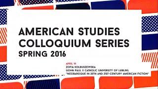 Zofia Kolbuszewska - Neobaroque in 20th and 21st-Century American Fiction