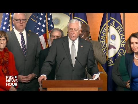 WATCH LIVE: Pelosi, House Democrats address possible government shutdown