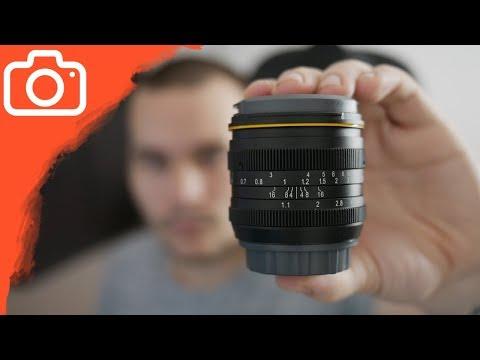 50mm OBJEKTIV ZA 170$ SE SVĚTELNOSTÍ f/1.1