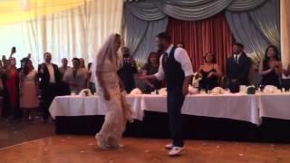 Kat & Mikey Disko Wedding Dance to Goapele's Hey Boy ft. Snoop