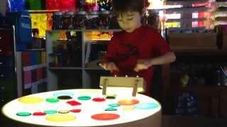 Kodo Kids Light Lab - Round Light Table
