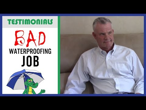 🐊 Don't Just Trust ANY Waterproofing Company! - Dry Guys Testimonial