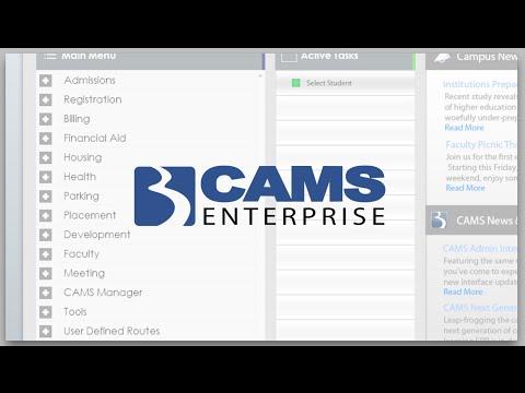 CAMS Enterprise vs  Ellucian Comparison