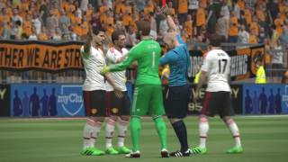 Hull City Vs Manchester UnitedPes 2016 Game Play/ Premier League Match Prediction/ PC Games