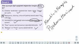 Eğitim Vadisi 10.Sınıf TDE 19.Föy Tiyatro 2 Konu Anlatım Videoları