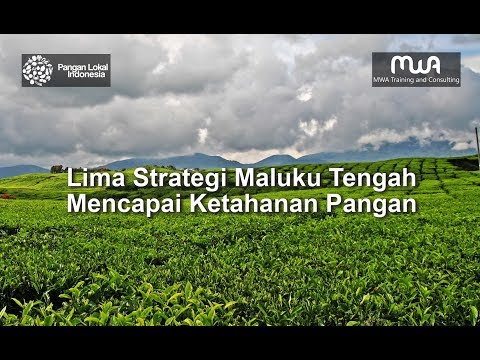 Lima Strategi Maluku Tengah Mencapai Ketahanan Pangan