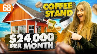 Behind The Scenes Of a $24,000 a Month Coffee Shop Business