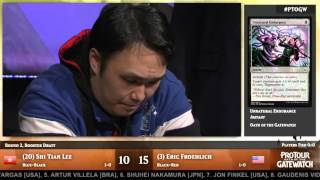 Pro Tour Oath of the Gatewatch Round 2 (Draft): Eric Froehlich vs. Lee Shi Tian