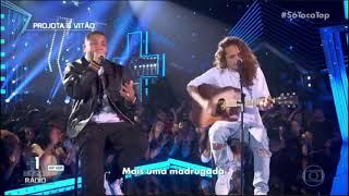 Projota E Vitão Cantam 'Sei Lá'  Só Toca Top 13072019