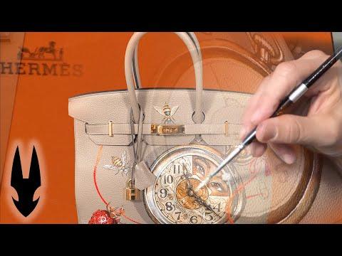 Custom Painting Birkin Bag