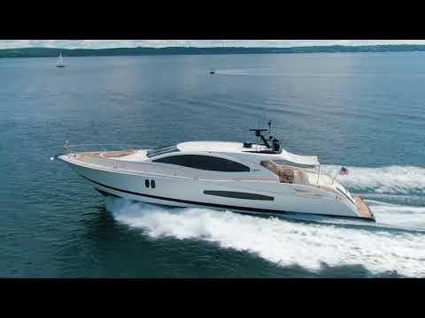 Lazzara Yachts 75 LSX video
