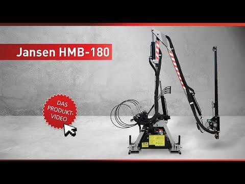Jansen HMB-180, Hydraulischer Mähbalken, Böschungsmähwerk, Heckenschere