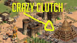 Most Clutch King of the Hill Ever? - AoE2 Community Game