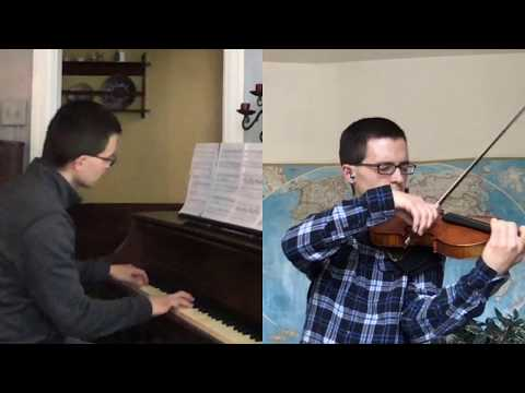 "Gabriel performs an arrangement of Rachmaninoff's Piano Concerto No 2 and Eric Carmen's ""All By Myself."""