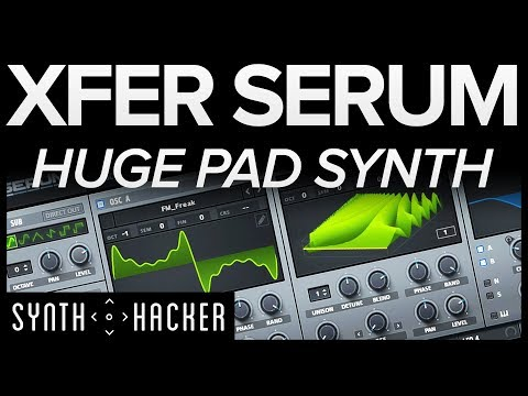 Serum Tutorial - Huge Pad Synth Chords Like MADEON / Porter Robinson