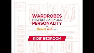 Wardrobe Design For Your Kids Bedroom | HomeLane.com