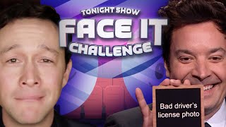 Face It Challenge with Joseph Gordon-Levitt | The Tonight Show Starring Jimmy Fallon