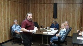 May 13, 2019 Coffee City Council Meeting