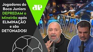 'O que esses caras do Boca Juniors fizeram foi…' Pancadaria após vitória do Galo é detonada!