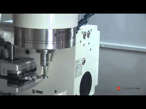 CAM TV: 5 Achsen-Bearbeitung  -HSMWORKS, Quaser 400 U mit Heidenheim ITNC 530 Steuerung