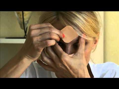 Eye mask die Maske für die Haut um die Augen
