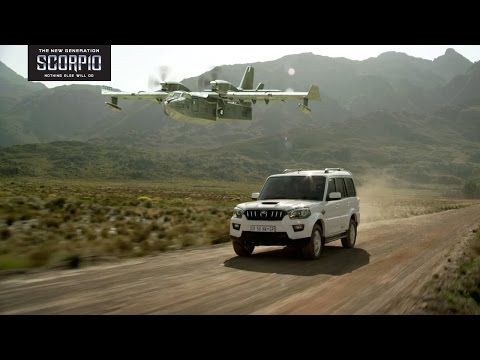 The New Generation Mahindra Scorpio