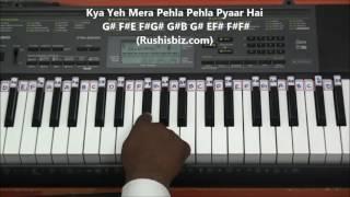 Suraj Hua Maddham (Piano Tutorials) - Kabhi Kushi Kabhi Gham | DOWNLOAD NOTES FROM DESCRIPTION