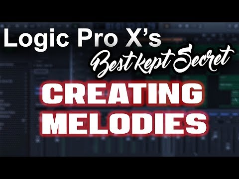 🔥 Logic Pro X's Best Kept Secret - Easily Creating Melodies | Beat Making Tutorial Music Production