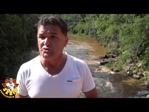 Diretor de Turismo Carlos do Phs implora para que as pessoas não entre para morrer na Cachoeira da Morte