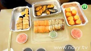 Почему так побледнела рыба в порции суши с уличного кафе? - Абзац! - 15.09.2014