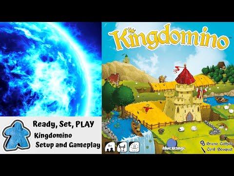 Ready, Set, PLAY - Kingdomino Setup and Gameplay