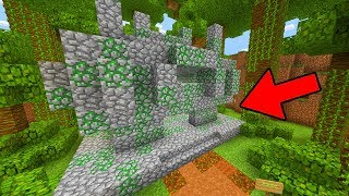 Do NOT Enter This Jungle Temple in Minecraft Pocket Edition