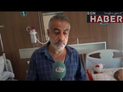 Siirt'te 9 aylık bebeğin tedavi parası çalındı|sonhaber.im
