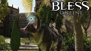 BLESS ONLINE - Stirring Thieves - Let's Play Bless Online Steam US Gameplay Part 4 (Story Questing)