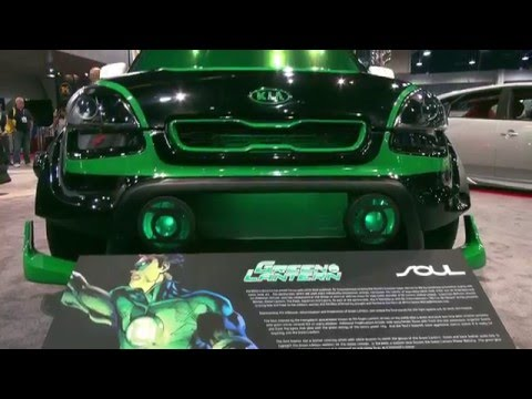 Green Lantern Kia Soul - BUILT FOR JUSTICE Ep. 4
