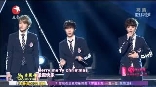 【2014东方卫视跨年晚会】EXO M《初雪》