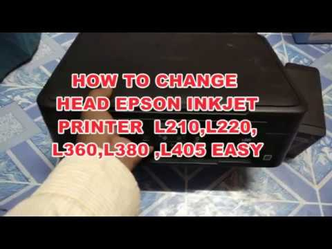 How to replace head strip of epson l210 l220 and l360