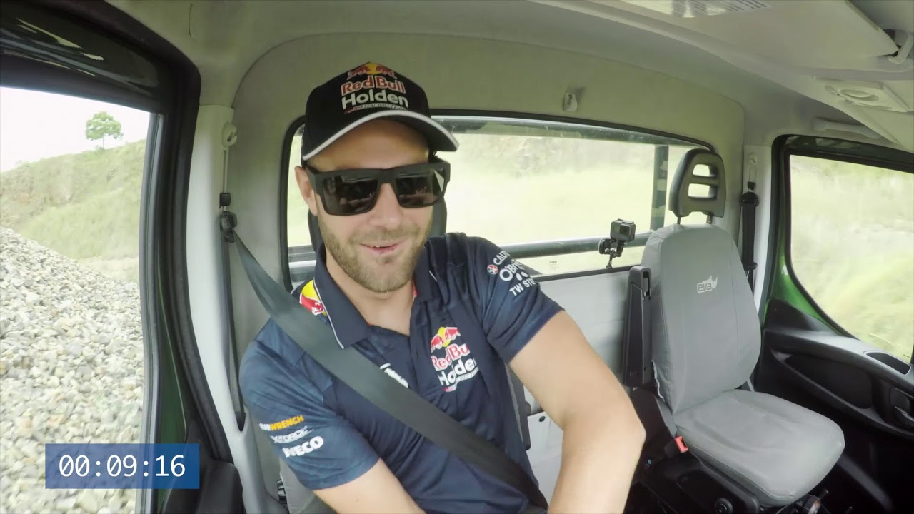 Daily 4x4 Race with Red Bull Holden Racing Team