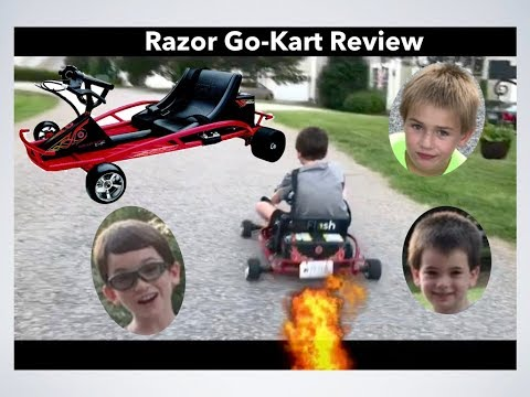 Razor Ground Force Drifter Go-Kart Review