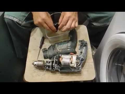 Ремонт выключателя у дрели Bosch PSB 530