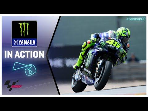 Yamaha in action: HJC Helmets Motorrad Grand Prix Deutschland