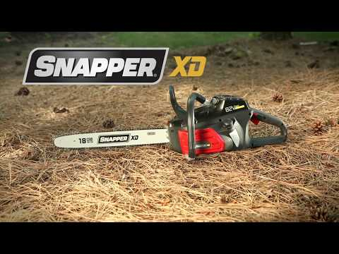 Snapper 82V Max Cordless Chainsaw in Evansville, Indiana - Video 1