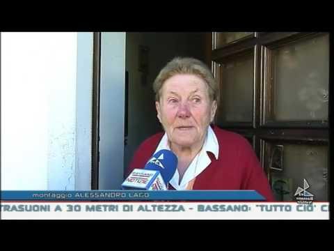 """""""Uomini-ragno"""" sulla facciata dell'Ossario"""