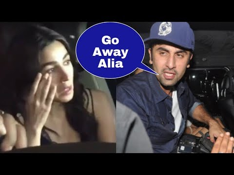 Ranbir Kapoor Finally Leaves And  BREAKUP With Gf Alia Bhatt Asks  To Stay Away |