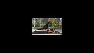 Fallen Dancer Pose With An EverStretch Stretching Strap With Loops - By User Jenny Graddy