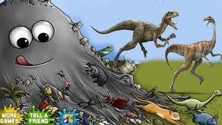 Tasty Planet СЛИЗЕНЬ БОБ СЪЕЛ ДИНОЗАВРОВ Мультик Игра для детей СЪЕДОБНАЯ ПЛАНЕТА
