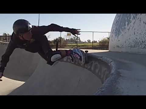 McKinley 46 year old skateboarder bowl skating mike fox Santa Cruz skatepark