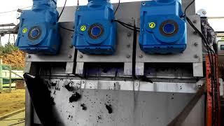 SEPARA Multi-Disc Screw Press, sludge dewatering,