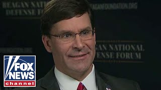 Defense Secretary Mark Esper discusses challenges to US national security
