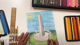 Drawing the Washington Monument